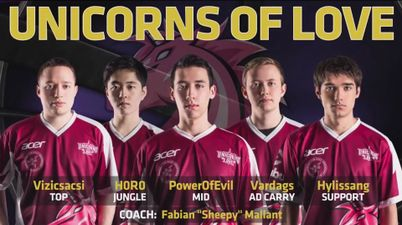Unicorns of Love - Roster, Members and Stats - LoL ...